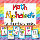 Math Alphabet Posters for the Primary Grades