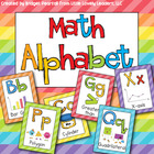 Math Alphabet Posters