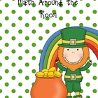 Math Around the Room for St. Patrick's Day