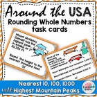 Math Around the USA Rounding 10, 100, 1000 3NBT1 3rd Grade