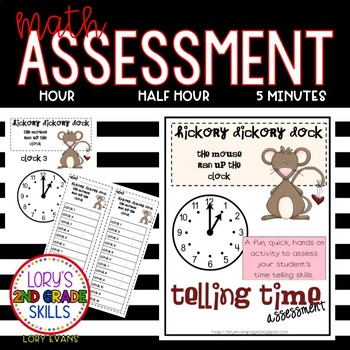 Math Assessment - Clocks - Hickory Dickory Dock