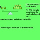 Math Balancing Equations with Models