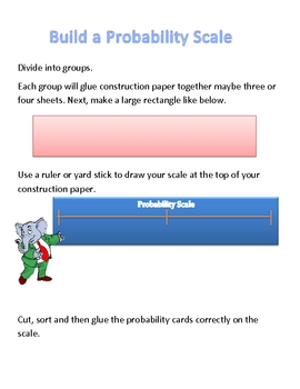 Math: Build a Probability Card and Sort Important Concepts