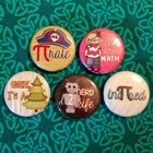 Math Button Variety Set of 5