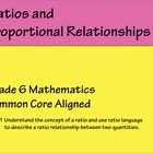 Math CCSS Grade 6 Unit for Ratios 6.RP.1. 6.RP.2, 6.RP3a