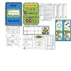 Math Calendar Concepts CCSS Annual Packet