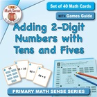 Math Card Activities for CCSS 1.NBT.4 Adding 2-Digit Numbe