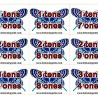 Math Card Game - Tens and Ones Place Order
