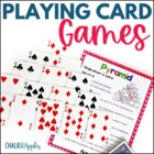 Math Card Games - Just Add Playing Cards!