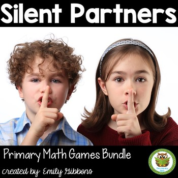 Math Card Games Bundle-Silent Partners