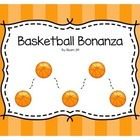 Math Center -- Addition, Basketball, Three Digit Numbers