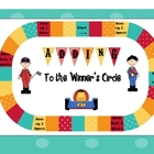 Math Center Addition Racing Game