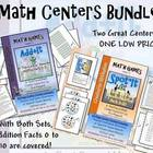Math Center Bundle-  Add+It (Facts 0-5) and Spot*It (Facts 6-10)