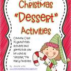 "Math Center ""Desserts""...Christmas Themed {Common Core Aligned}"