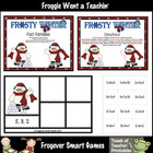 Math Center --  Frosty Winter Fact Families