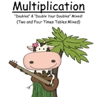 Math Center Game Mulitplication ~ Doubles & Double Your Doubles