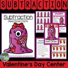 Math Center Game Subtraction ~ Facts With Zero Concept!
