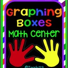 Math Center:  Graphing Boxes - Kindergarten and 1st grade