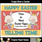 Math Center -- It's Time to Hunt Easter Eggs