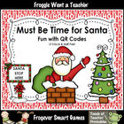 Math Center--Must Be Time for Santa Fun with QR Codes (O'C