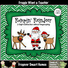 Math Center--Rompin' Reindeer (2-Digit Subtraction Without