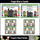 Math Center -- Super Monkeys to the Rescue (set 1)