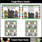 Math Center -- Super Monkeys to the Rescue (set 2)