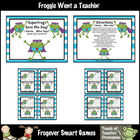 Math Center -- Superfrogs Save the Day (set 2)