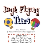 Math Center- Telling Time: High Flying Time!