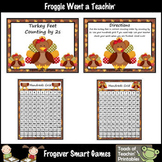 Math Center -- Turkey Feet Counting by 2s
