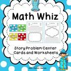 Math Center- Word Problems~Common Core Standards Based