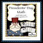 Math Centers: 2 American Presidents Presidents Day