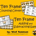 Math Centers {2 Ten Frame Games}