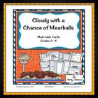Math Centers: Cloudy with a Chance of Meatballs