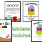 Math Centers Combo Pack