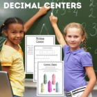 Math Centers Decimals - CCSS
