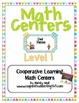 Math Centers - Level 1 (Owl theme)
