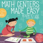 Math Centers Made Easy. Printable and DVD English and Spanish K-2