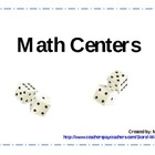 Math Centers (Number Sense)
