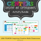 Math Centers: Order of Operations Activity Bundle