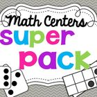 Math Centers SUPER PACK {15 activities- 150 pages}