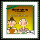 Math Centers: Thanksgiving: An American Holiday
