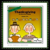 Math Center: Thanksgiving: An American Holiday