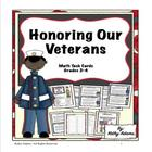 Math Centers: Veterans' Day
