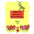 Math Centers - Word Problems - Flower Fun