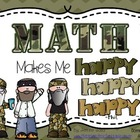 Math Centers.....Math Makes Me Happy,Happy,Happy!