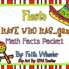 Math - Cinco de Mayo Fiesta: I Have Math Facts