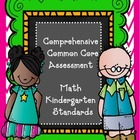Math Common Core Assessment for all Kindergarten Standards
