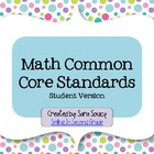 Math Common Core Index Cards - Grade 2