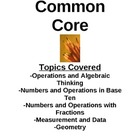 Math Common Core-Step by Step Pages and Worksheets-5th Grade